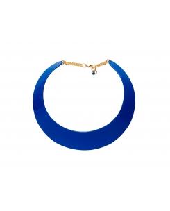 collar azulon liso