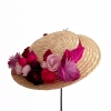 canotier de flores/ coronita