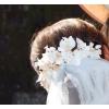 Tiara de florecillas y hojas